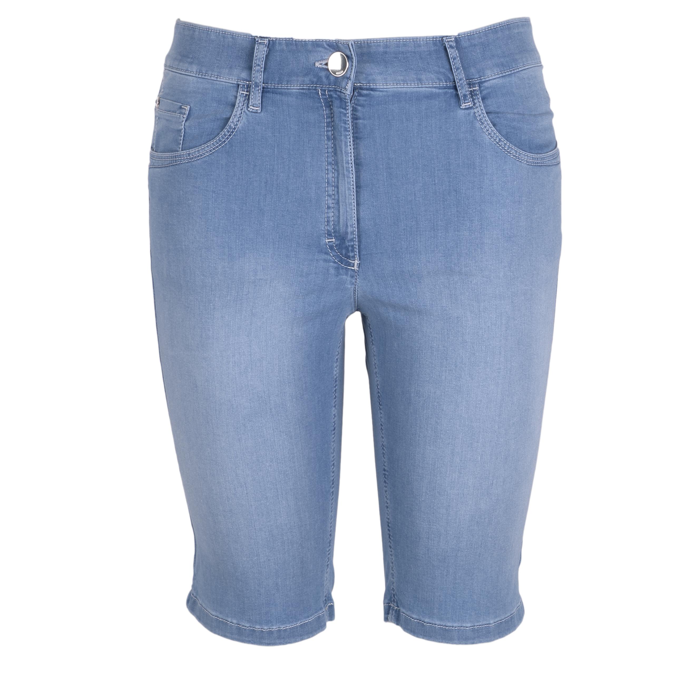 Zerres Damen Jeans Shorts Sarah