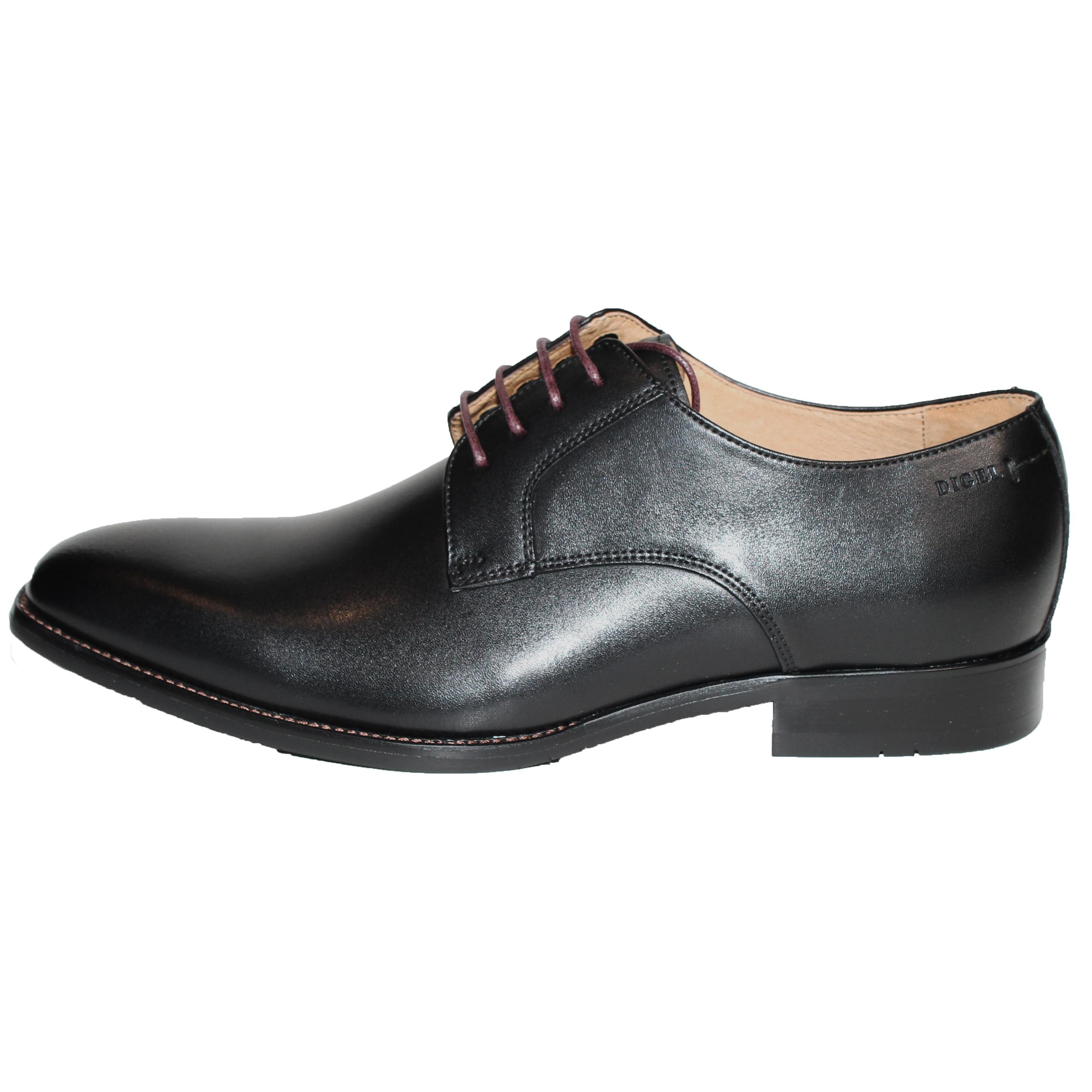 Digel Herren Schuh Simon Derby 45 schwarz