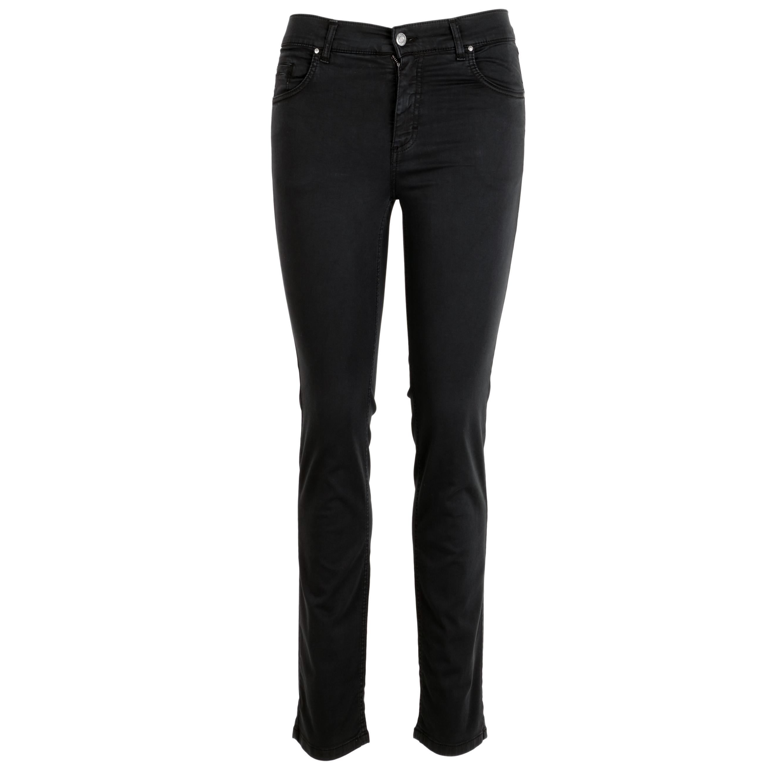 Angels Damen Jeans Cici leichte sommerliche Qualität 44/30 schwarz