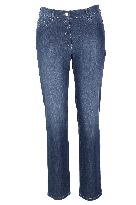 Zerres Damen Jeans Greta sommerliche Qualität - blau 22