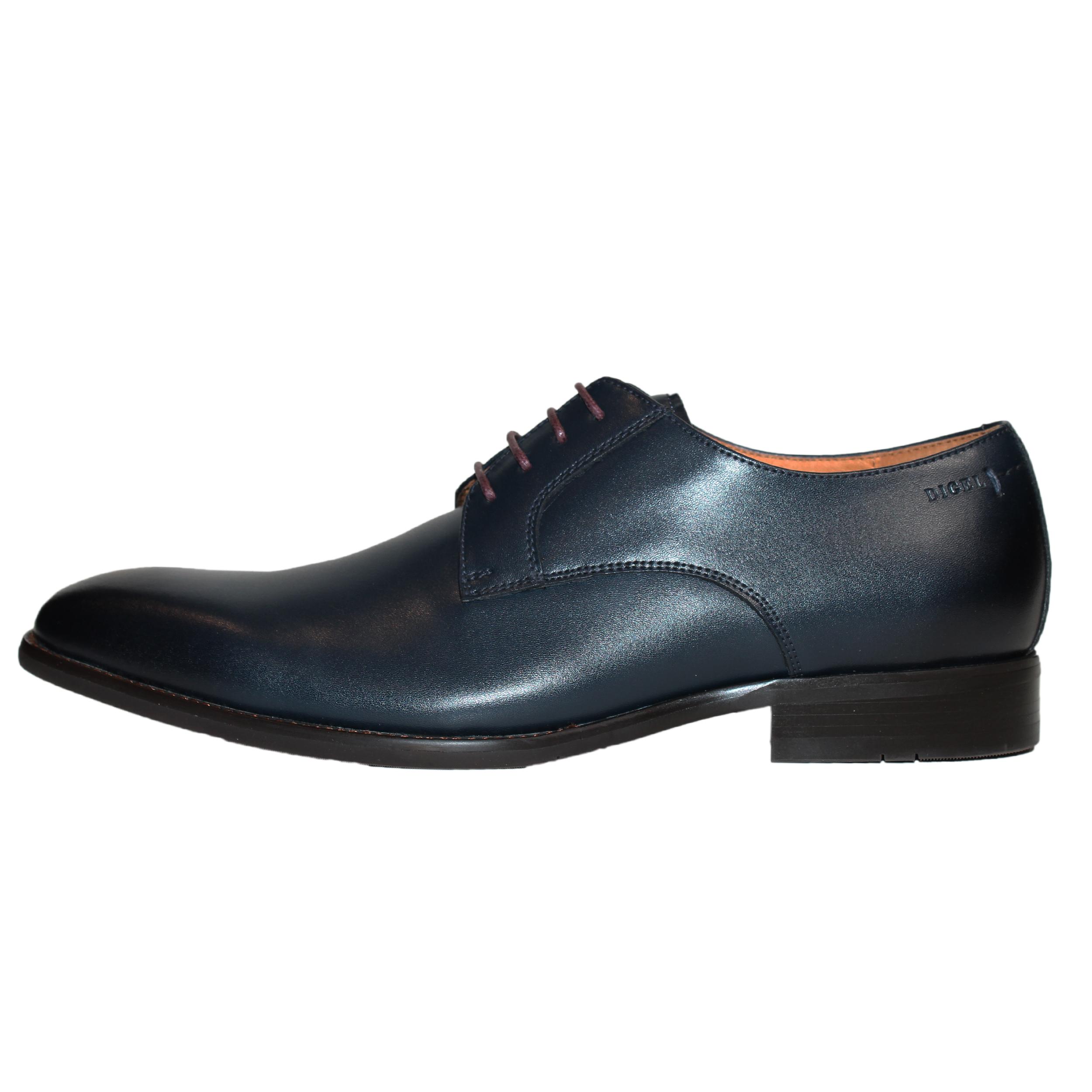 Digel Herren Schuh Simon Derby 41 dunkelblau
