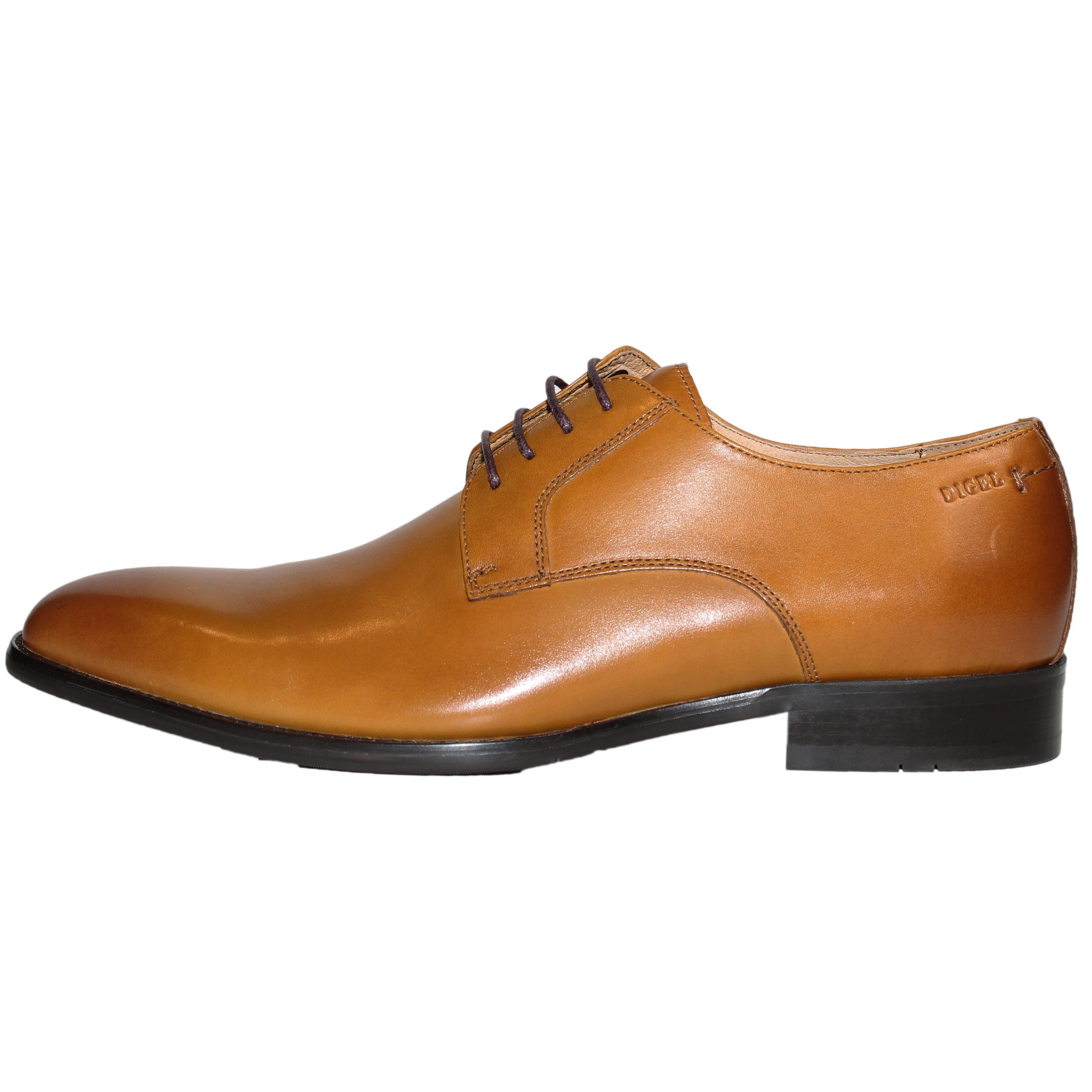 Digel Herren Schuh Simon Derby 42 cognac