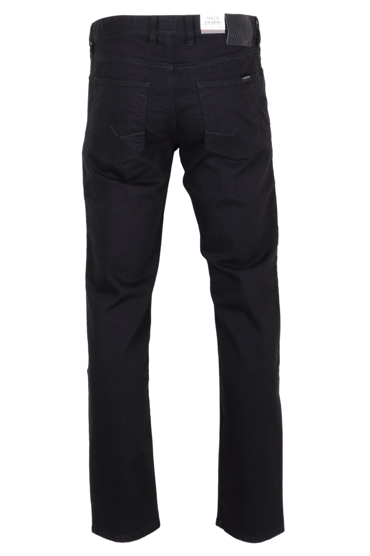 Alberto Herren Jeans Pipe -  schwarz