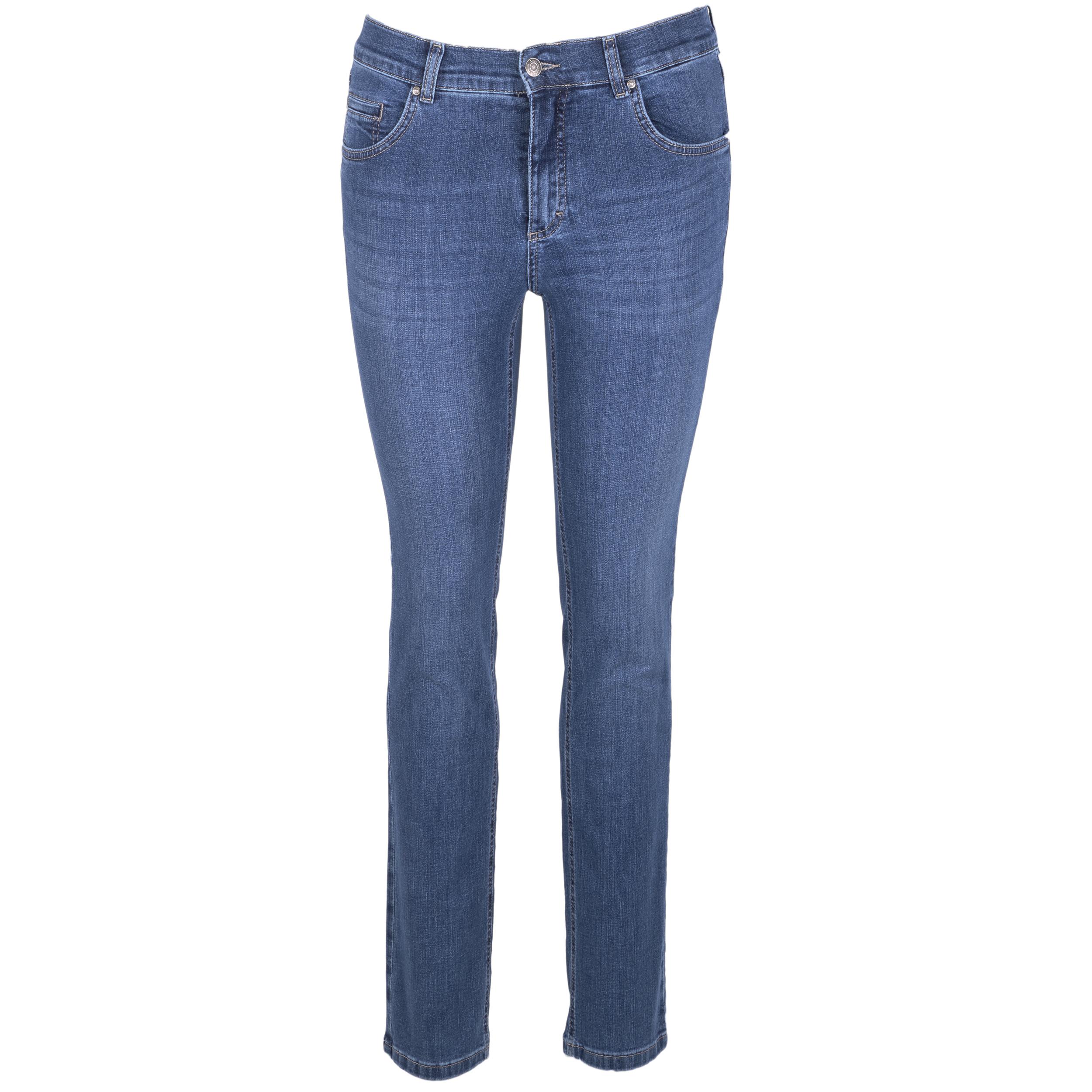 Angels Damen Jeans Cici regular - mid blue