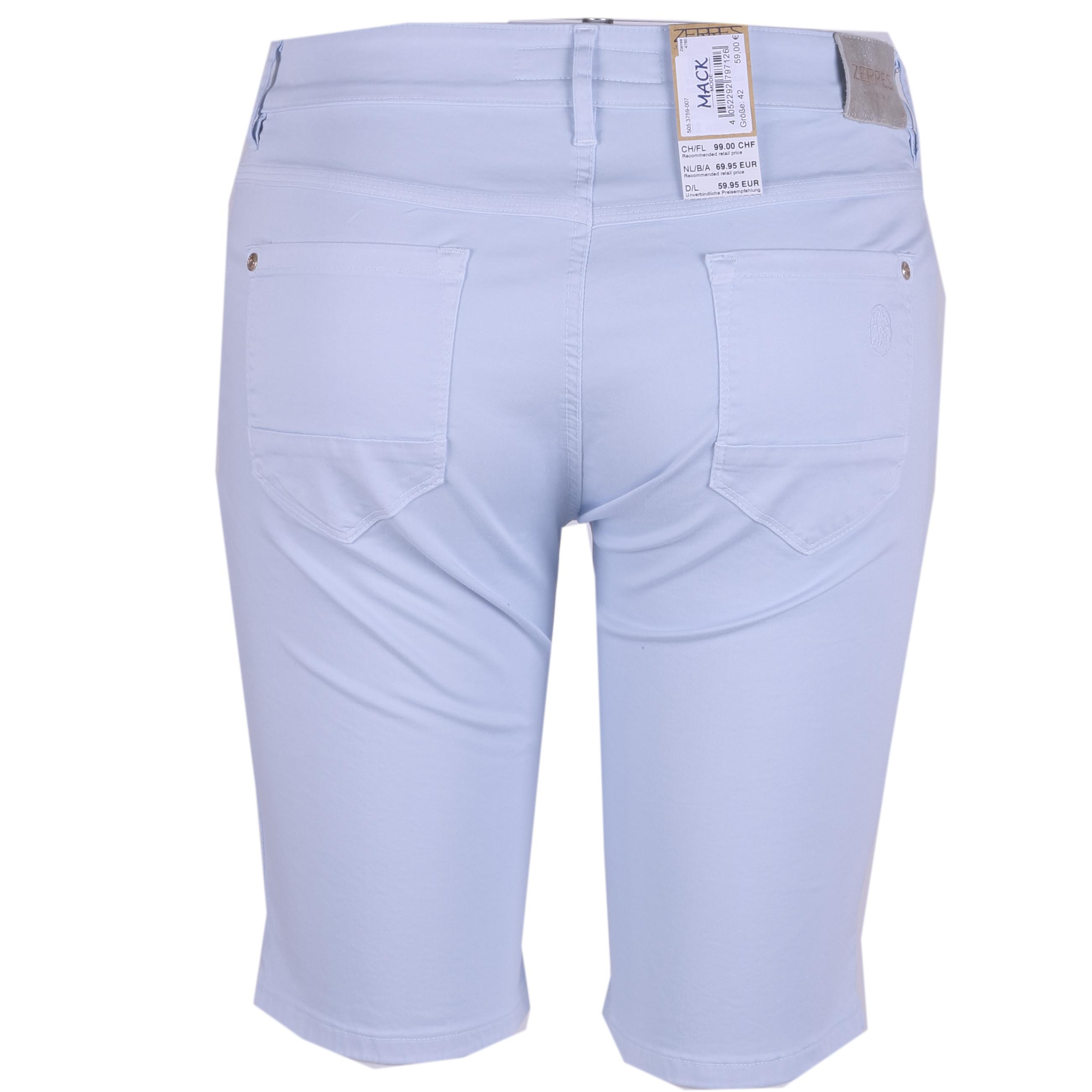 Zerres Damen Bermuda Shorts Sarah 42 hellblau