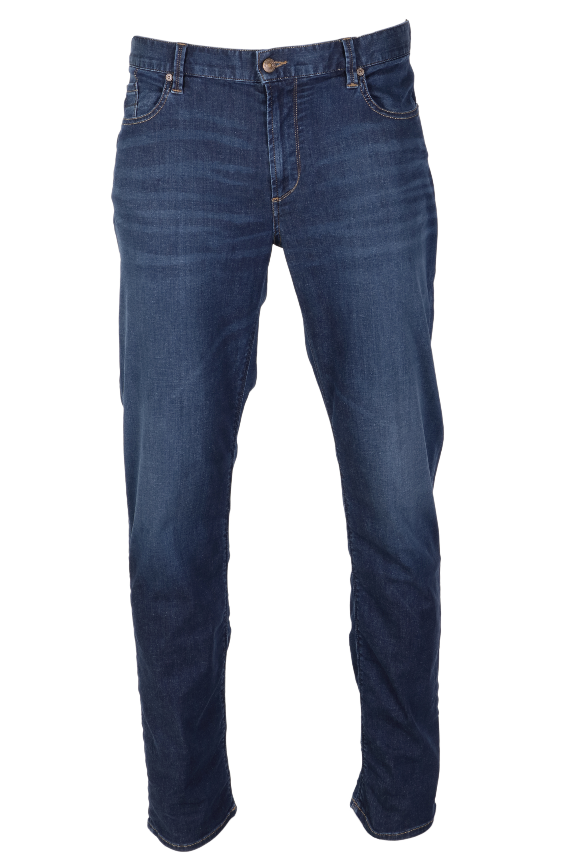 Alberto Jeans Pipe Tencel Denim - blau 35/34