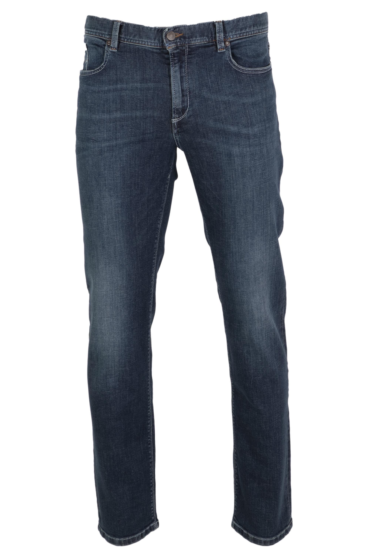 Alberto Herren Jeans Pipe dynamic Superfit - dunkelblau